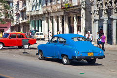 HAVANA-DECEMBER 30:Street in the old part of the city December 3 Stock Image