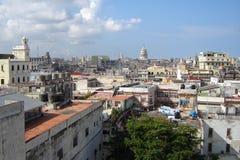 Havana do centro, Cuba Imagens de Stock Royalty Free
