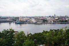 Havana downtown panorama Royalty Free Stock Photo