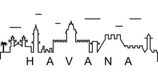 Havana-Entwurfsikone Kann für Netz, Logo, mobiler App, UI, UX verwendet werden stock abbildung