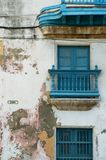 Havana facade Stock Photography