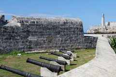 Havana Fort Royalty Free Stock Images