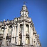 Havana Great Theatre Royalty Free Stock Images