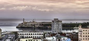 Havana harbor, Cuba. Panorama Royalty Free Stock Image
