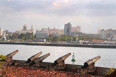Havana harbour Stock Image