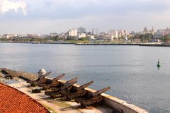 Havana harbour Royalty Free Stock Photo