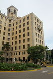 Havana Hotel Nacional Stock Photo