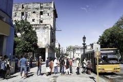 HAVANA, KUBA - 11. DEZEMBER 2016 Stockfotografie