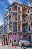 HAVANA, KUBA 12. JULI 2016: Ansicht der Gruppe von Personen herein gehend Lizenzfreies Stockbild