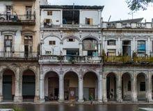 HAVANA, KUBA - 21. OKTOBER 2017: Havana Architecture kuba stockbild