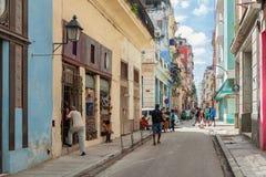 HAVANA, KUBA - 20. OKTOBER 2017: Havana Old Town Architecture Stockfoto