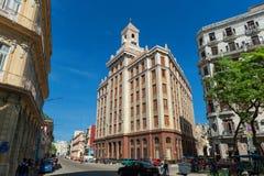 HAVANA, KUBA - 20. OKTOBER 2017: Havana Old Town Architecture Lizenzfreies Stockbild