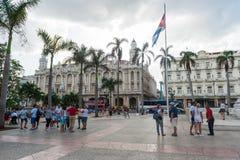 HAVANA, KUBA - 23. OKTOBER 2017: Havana Old Town und Central Park kuba Lizenzfreies Stockbild