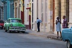 Havana, Kuba, streetlife lizenzfreies stockfoto