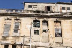 Havana - La Habana Vieja - Cuba velhos foto de stock royalty free
