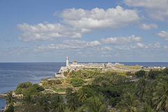 Havana Lighthouse Royalty Free Stock Images
