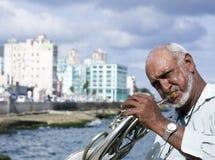 Havana Malecon Royalty-vrije Stock Fotografie