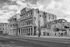 Havana Malecon. It is esplanade along the coast in Havana Royalty Free Stock Photos