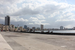 Havana Malecon Stock Photos