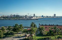 Havana, mening van het kasteel van Gr Morro royalty-vrije stock afbeelding