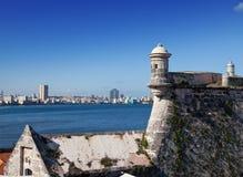 Havana. Morro's fortress. Stock Photo