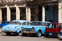 Havana old cars Royalty Free Stock Photo