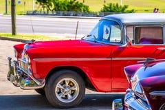 Havana Old Cars stock photo