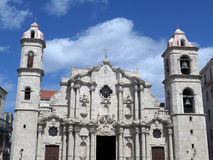 Havana Oldest Cathedral Royalty Free Stock Image
