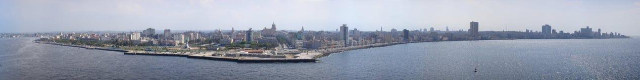 Havana panorama I. Big image with panorama of Havana Royalty Free Stock Photo
