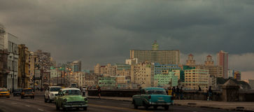 Havana. Photo from my trip to Cuba Royalty Free Stock Images