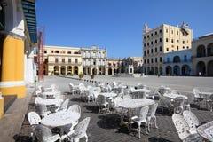 Havana - Plaza Vieja Stock Images