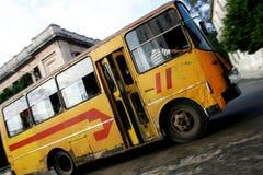 Havana Public Bus Stock Photos
