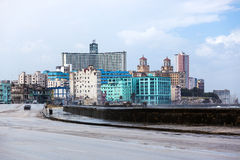 Havana on rainy day Royalty Free Stock Photography