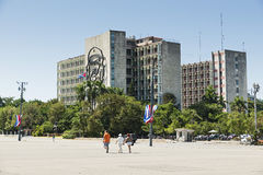 Havana. Revolution Square Royalty Free Stock Images