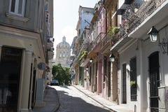 Havana Roads Kuba Royaltyfria Foton
