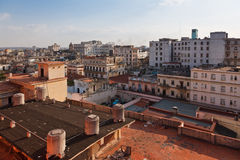 Havana roofs Royalty Free Stock Images