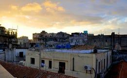 Havana Rooftops Royalty-vrije Stock Fotografie