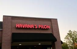 Havana ` s Pilon, Memphis, TN royalty-vrije stock foto's