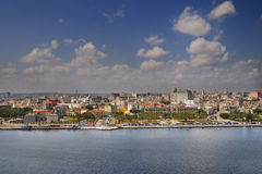 Havana skyline and bay Stock Image
