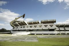 Havana stadium Panamericano stock images