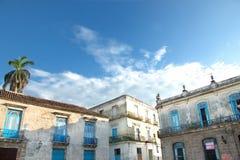 Havana-Stadtarchitektur Stockbild