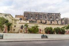 Havana Steet plats Royaltyfri Foto