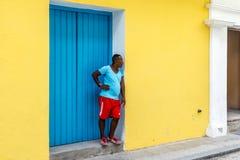 Havana Steet scene-51 Imagem de Stock Royalty Free