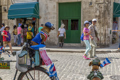 Havana Steet scene-52 Fotografia de Stock Royalty Free