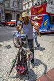 Havana Steet scene-21 Imagem de Stock Royalty Free