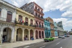 Havana Steet scene-32 Arkivbild