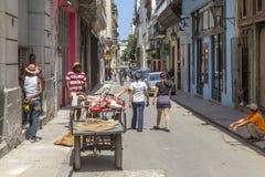 Havana Steet scene-43 Royaltyfri Bild
