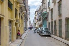 Havana Steet scene-15 Stock Images