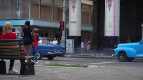 Havana-Straße stock video footage