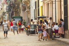 Havana-Straße Lizenzfreies Stockbild